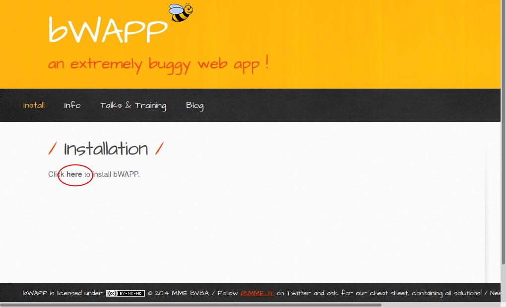 bWAPP çalıştırma
